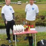 Ole Roger Askerud og Erik Grande var tidtakere.