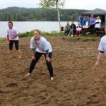 Disse jentene kom helt fra Setskog for å delta i turneringen.