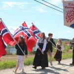 Vaiende flagg