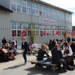 Liv og røre på skolen