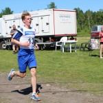 Karl Johan Olsen ble dagens raskeste løper. Foto: Hans Dyblie