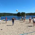 Volleyballturnering. Foto: Hans Dyblie
