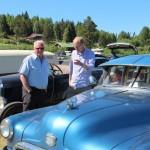 Gamle biler. Foto: Hans Dyblie