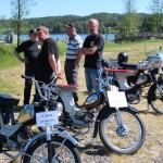 Mopedklubben Blåreik var også til stede. Foto: Hans Dyblie
