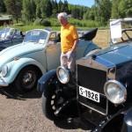 Gammel og to nyere cabriolet. Foto: Hans Dyblie