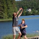 Volleyballglimt. Foto: Astri Kløvstad
