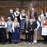 7. trinn på Eidskog Montessoriskole holdt 17. maitalen.