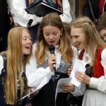 Aurora Sørli Grande, Synne Marie Svendsrud og Tora Torkelsdatter Strøm var tre av hovedtalerne for dagen.