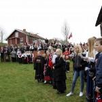 Mange møtte opp tross gråvær på nasjonaldagen.