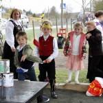 Tradisjonsrike leker var det mange av på Vestmarka