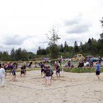 Innledende runde i volleyballturneringen. Foto Astri Kløvstad